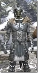 Silver Dawn Iron - Argonian Male Close Front