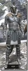Silver Dawn Iron - Argonian Male Front