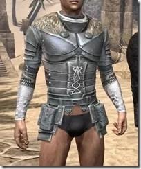 Silver Dawn Iron Cuirass - Male Front