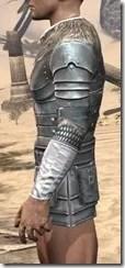 Silver Dawn Iron Cuirass - Male Side
