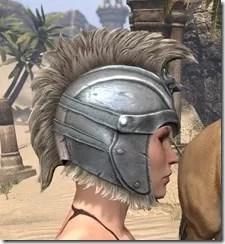Silver Dawn Iron Helm - Female Right