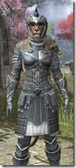 Silver Dawn Iron - Khajiit Female Close Front
