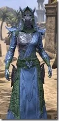 Dremora Ancestor Silk - Dyed Robe Close Front