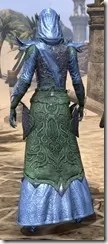 Dremora Ancestor Silk - Dyed Robe Rear
