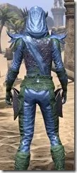 Dremora Ancestor Silk - Dyed Shirt Close Rear