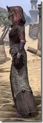 Dremora Ancestor Silk - Female Robe Side