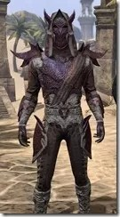 Dremora Ancestor Silk - Male Shirt Close Front