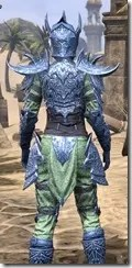Dremora Rubedite - Dyed Close Rear
