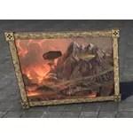 Velothi Painting, Classic Volcano