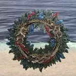 Winter Ouroboros Wreath