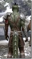 Arena Gladiator - Argonian Male Close Rear