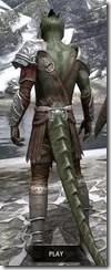 Arena Gladiator - Argonian Male Rear
