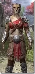 Arena Gladiator - Khajiit Female Close Front