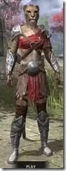 Arena Gladiator - Khajiit Female Front