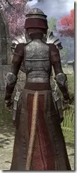 Battlemage Tribune Armor - Khajiit Female Close Rear