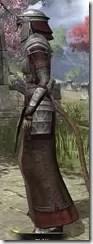 Battlemage Tribune Armor - Khajiit Female Side