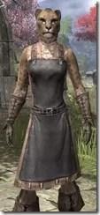 Blacksmith - Khajiit Female Close Front