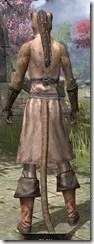 Blacksmith - Khajiit Female Rear