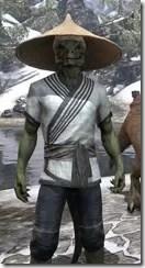 Budi-Shirt and Galligaskins - Argonian Male Close Front