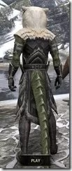 Cavalier of the Sworn Oath - Argonian Male Rear