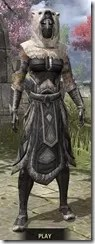 Cavalier of the Sworn Oath - Khajiit Female Front