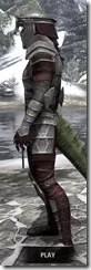 Centurion Dress Armor - Argonian Male Side