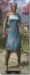 City Isle Tunic Dress - Khajiit Female Front