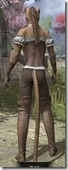 Corseted Riding Outfit - Khajiit Female Rear