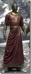 Cyrod Patrician Formal Gown - Argonian Male Front
