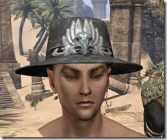 Deluxe Mourning Hat Male Front