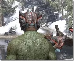 Earthgore - Argonian Male Rear