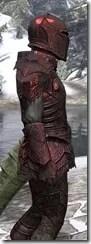 Ebony Heavy - Argonian Male Close Side