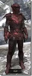Ebony Heavy - Argonian Male Front