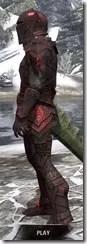 Ebony Heavy - Argonian Male Side