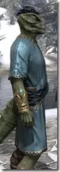 Elder Council Tunic and Sash - Argonian Male Close Side
