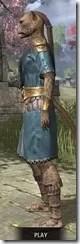 Elder Council Tunic and Sash - Khajiit Female Side