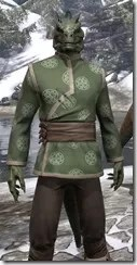 Eternity Tunic with Pants - Argonian Male Close Front