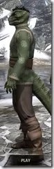 Eternity Tunic with Pants - Argonian Male Side