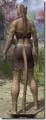 Graht-Climber's Active Wear - Khajiit Female Rear