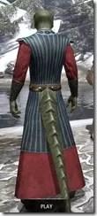 Jarl's Deluxe Moot Regalia - Argonian Male Rear