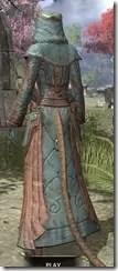 Mages Guild Formal Robes - Khajiit Female Rear