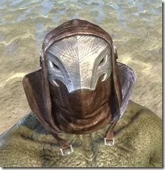Malefic Standing Collar Hood Argonian Male Front