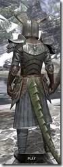 Nedic Duraki Armor - Argonian Male Rear