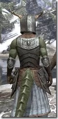 Nedic Keptu Armor - Argonian Male Close Rear