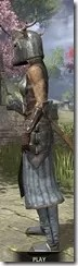 Nedic Keptu Armor - Khajiit Female Side