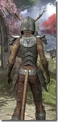 Nedic Perena Armor - Khajiit Female Close Rear