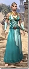 Nibenese Noble's Shawled Robe Female Front