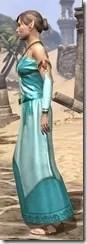 Nibenese Noble's Shawled Robe Female Side