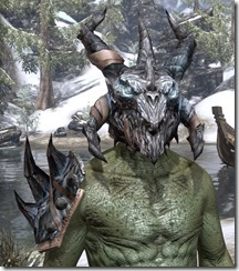 Nightflame - Argonian Male Front