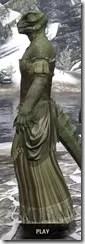 Off-the-Shoulder Evening Dress - Argonian Male Side